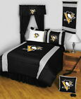 Pittsburgh Penguins Comforter Sham & Pillowcase Twin Full Queen King Size