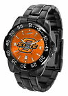 Oklahoma State Cowboys Fantom Watch Gunmetal Finish Orange Dial Ladies or Mens