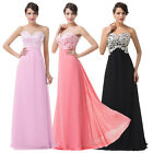 Long Ladies Bridesmaid Ball Gown Masquerade Formal Evening Party Maxi Prom Dress