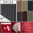 "*BARGAIN* vertical blinds SALSA (headrail & 3.5"" slats) made to measure"
