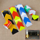 """2"""" X 10' 3M Night Reflective Safety Warning Conspicuity Tape Strip Arrow Sticker"""