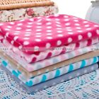 Small Large Cute Design Pet Dog Cat Fleece Couture Blanket Mat Quilt FKS