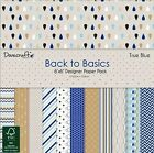 """Dovecraft True Blue Sample Paper Pack (12 sheets x 6x6"""" size)"""