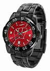Wisconsin Badgers Fantom Watch Gunmetal Ladies or Mens Red Dial