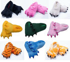 New Warm Unisex Cosplay Indoor Shoes Slippers Animal Stitch Pikachu Giraffe Paw