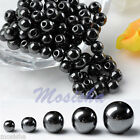 Wholesale Magnetic Hematite Loose Round Beads fit Necklace Bracelet DIY Gift M
