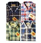 3006- Mens Flannel Check Lumberjack Brush Cotton Work Shirt Checked By Tom Hagan