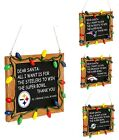 NFL Football Team Resin Chalkboard Sign Christmas Tree Ornament - Pick Your Team on eBay