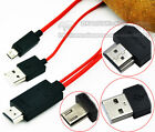 2M Micro USB To HDMI MHL Cable Adapter Full HD 1080P Mobile Phone For HDTV Cable