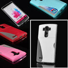 Wallet Credit Card Holder PU Leather Fitted Case Soft TPU Back Cover For LG G3