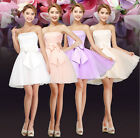 Sexy Short Mini Women Bridesmaid Dress Evening Cocktail Ball Gown Party Prom