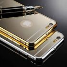 Luxury Aluminum Ultra Thin Mirror Metal Case Cover for iPhone 6/6+ Plus/5 5s