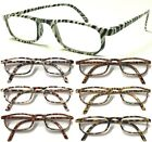 L199 Super Fashion Reading Glasses & Animal Fur Design +150+200+250+300+350+400