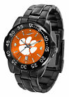 Clemson Tigers Fantom Watch Gunmetal Finish Ladies or Mens Orange Dial