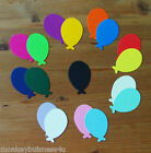 30 - Birthday Die Cuts - small Oval Balloons - Sizzix Shape -  Kids - Party