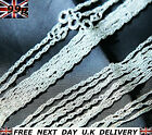 "Wholesale 925 Sterling SILVER Plated 16"" 18"" Inch CHAINS NECKLACES Jewellery 2mm"
