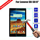 Anti Explosion Tempered Glass Screen Protective Film For Lenovo Tab 2 S8-50 8""