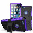 Hybrid Armor Rugged Impact Box Case Shockproof Stand Cover For iPhone 6 6s Plus