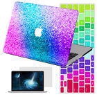 "Shiny Glitter Painting Hard Case Cover for Macbook Air 11""12""13 Pro 13""15""+KB+SP"