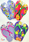 Flowers Designs Beach & Bath Slippers With Hook For Hanging  (10/5195)