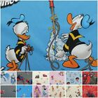 Licensed Disney Cartoon Marvel DC Comic Character 100% Cotton Curtain Fabric