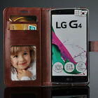 For LG G3 G4 Gpro2 Flip Pu leather card holder wallet cover stand phone case New
