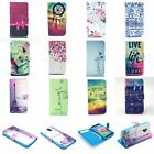 Flip Leather SOME Pattern Wallet Cards Stand Case Cover For Samsung Galaxy Phone