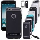 Slim Durable Hard/Soft Dual Layer Hybrid Impact Protective Case Cover +Kickstand