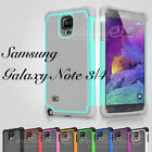 Color Heavy Duty Hybrid Rugged Hard Matte Case Cover For Samsung Galaxy Note 3 4