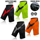 MTB Shorts Off Road BMX Downhill Bicycle Shorts High Quality & Design - M, L, XL
