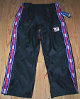 Nwt New York Giants NY Logo Football Tailgate Pants Weather Proof Black Nice Men