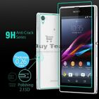 Really Substantial 9H Tempered Glass Screen Protector Film For SONY Z1 Z2 Z3 M2
