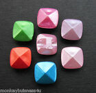 7 - Novelty Buttons - Square pearl Dress Buttons - Baby/Kid's - Knitting/Sewing