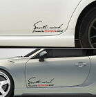 Sports mind powered by TOYOTA SPORT #10 Decals Stickers Graphics GT 86 Rav4 I