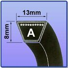 A SECTION V BELT SIZES A77 - A100 V BELT 13MM X 8MM