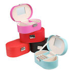 Jewelry Box Organizer Storage Travel Case with Mirror for Necklace Earrings Ring