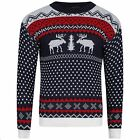 Womens Ladies Mens Rudolph Reindeer Holiday Christmas Sweater New Design Sale