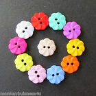 7 - Novelty Buttons - Sunflower - 12.5mm - Baby/Kids - Clothes - Knitting/Sewing