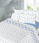 Printed Flannel Duvet Cover + Pillow Cases Set OR Sheet Sets + Pillow Cases