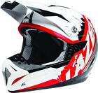 LAZER SMX WHIP WHITE RED BLACK MX MOTOCROSS MOTORCYCLE HELMET
