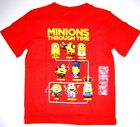 minions dispicable me - Dispicable Me Minions Boys Short Sleeve T Shirt NWT Size 5/6 or 7 Orange