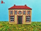CHOICE of 3 MINIATURE COUNTRY HOUSES for FAIRY GARDEN Painted RESIN HOME DECOR