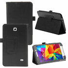 Folio Flip Leather  Case Cover Wake Sleep For Various Samsung Galaxy Tab Tablets