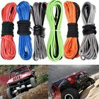 50' Super Synthetic Fiber Winch Line Cable Rope Recovery Replacement Car SUV ATV