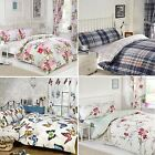 3 Piece Bedding Bumper Set DUVET COVER FITTED SHEET CURTAINS Ellie Bedroom Set