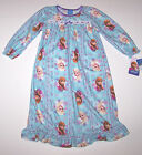 Nwt New Disney Princess Frozen Flannel Granny Nightgown Pajamas Toddler Girl