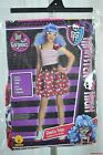 Monster High Ghoulia Yelps Costume Dot Dead Gorgeous Girls S M Lg Dress Up New