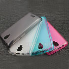 Soft Silicone Gel TPU Back Case Cover + LCD Film For Lenovo A1000 4'' Smartphone