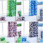 Pixels Childrens Nursery Curtains Kids Tape Top Pencil Pleat Tiebacks Mining