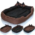 Comfortable Dog Bed 4in1 Color Luxury Soft Washable - Removeable XL Cushion